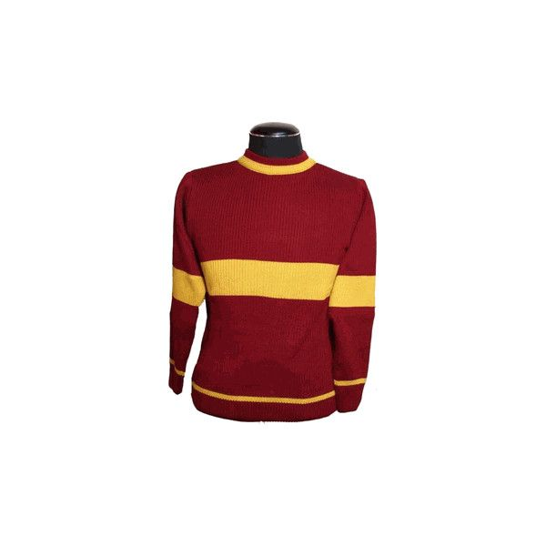 f9c56ddb18 Gryffindor Quidditch Team Sweater ( 50) ❤ liked on Polyvore featuring tops