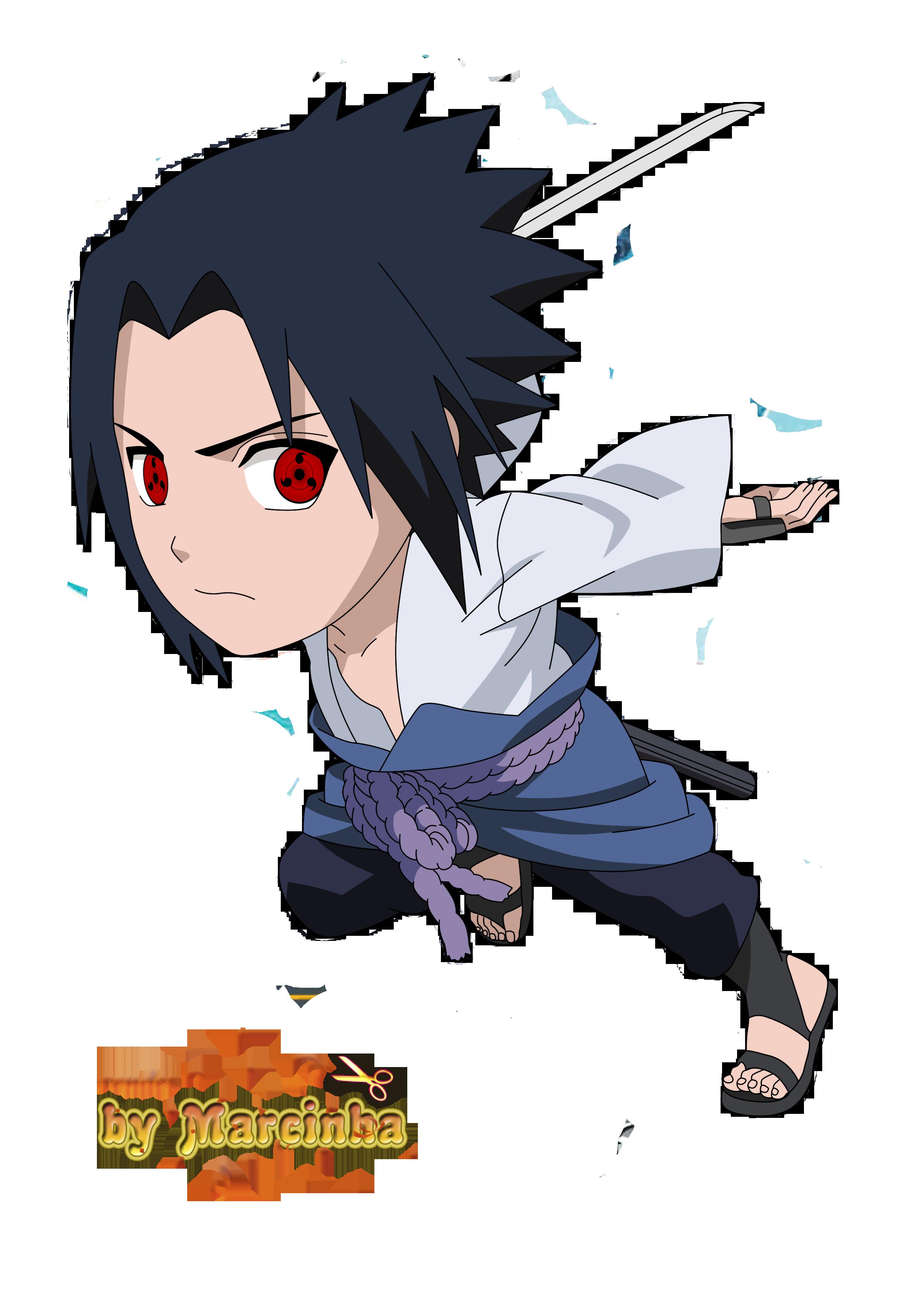 PNG Chibi Sasuke Uchiha Sharingan eyes by Marcinha20 ...