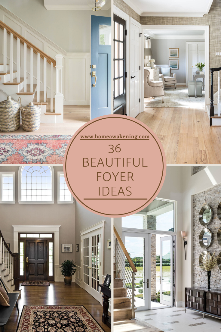 36 Beautiful Foyer Designs And Ideas In 2020 Foyer Design Home