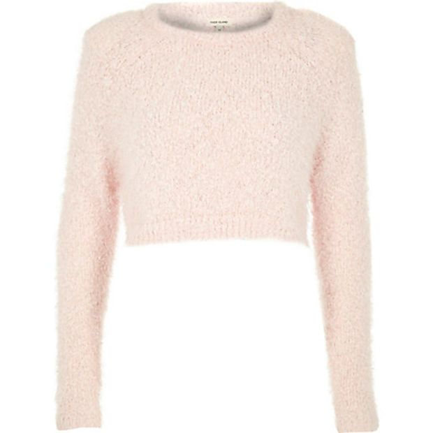 Pin by Maria Shabkhiz on sweaters | Pink crew neck sweater