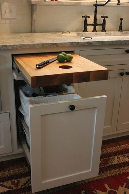 Traditional Kitchen by Stringer Construction & Design #kitchenstorage