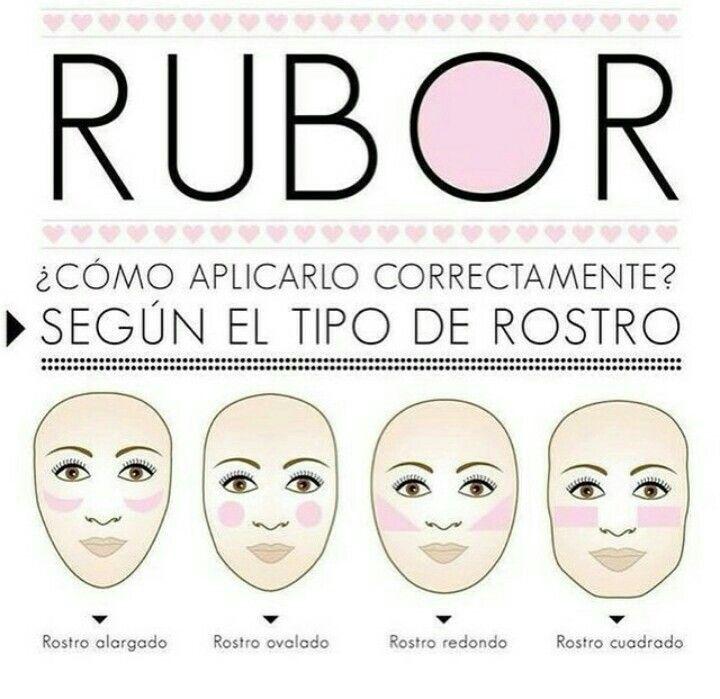 Como aplicar el rubor maquillaje pinterest - Como aplicar el microcemento ...
