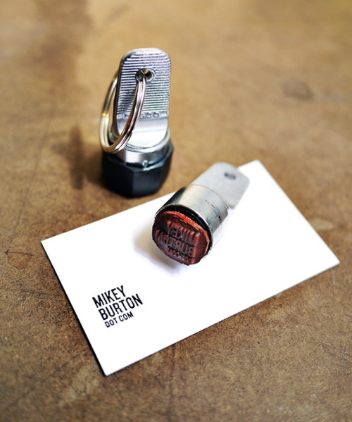 Unique Business Cards Try A Stamp For Mobile Card