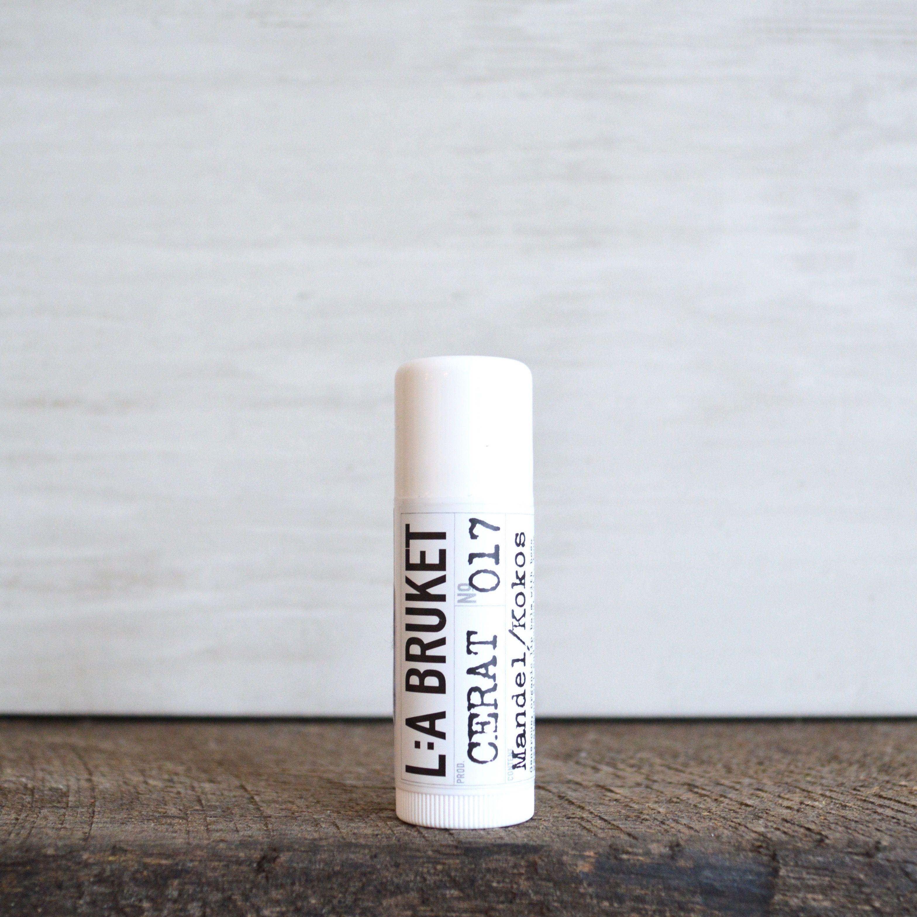L:A Bruket Lip Balm | The balm. Lip balm. Pure essential oils