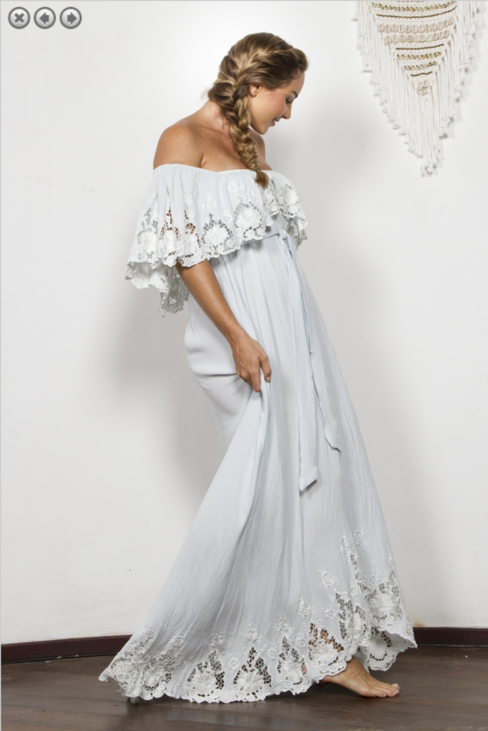 7fb9a60100e Asheville Maternity Dress