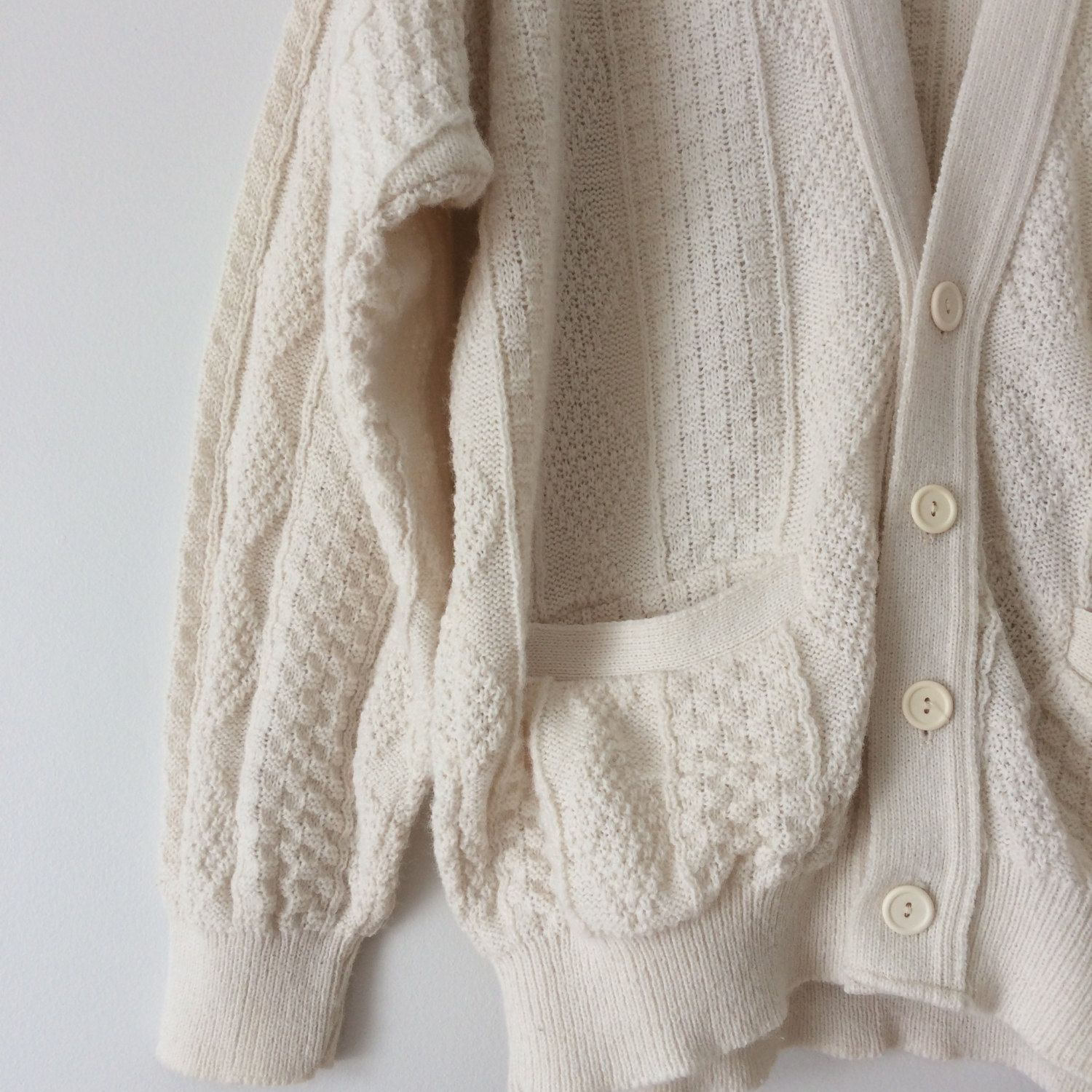 Oversized sweater, knit sweater, vintage sweater, vintage knit ...