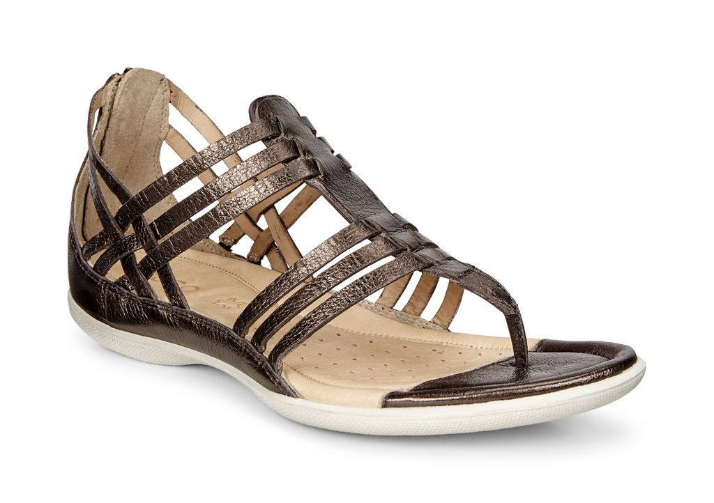 ECCO Flash Lattice T Sandal (LICORICE) Original MSRP $90. Pricing Policy  240983-