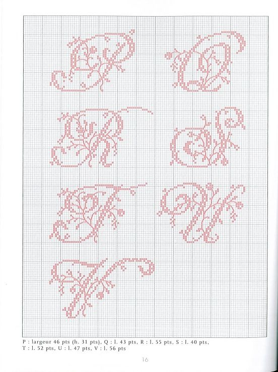 Lettre En Point De Croix : lettre, point, croix, Gallery.ru, Фото, Belles, Lettres, Point, Croix, Moimeme1, Cross, Stitch, Alphabet, Patterns,, Fonts,