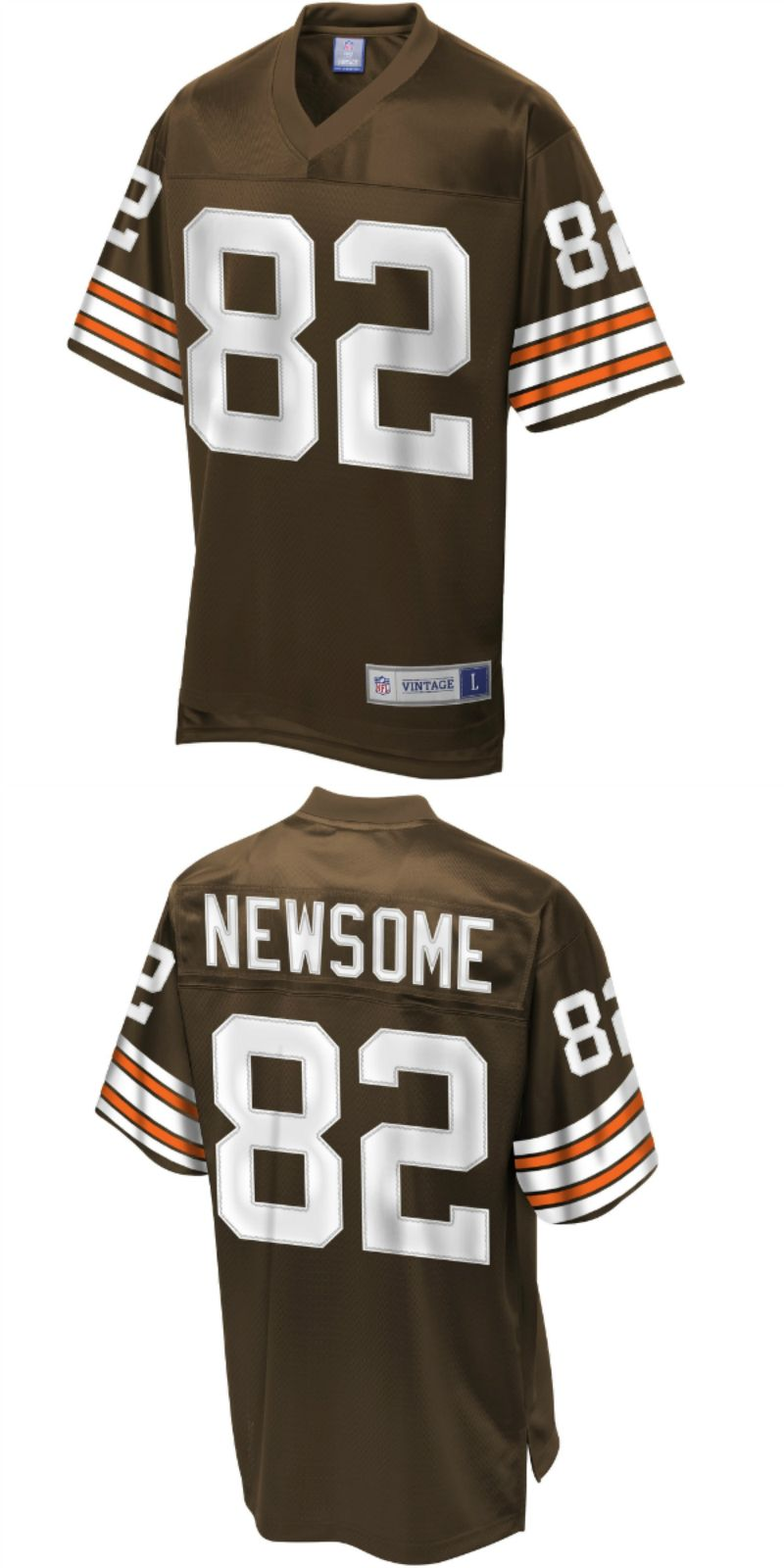 new styles 2dfdb 344bc UP TO 70% OFF. Men's NFL Pro Line Cleveland Browns Historic ...
