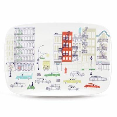 Hopscotch About Town Oblong Platter - $95.00