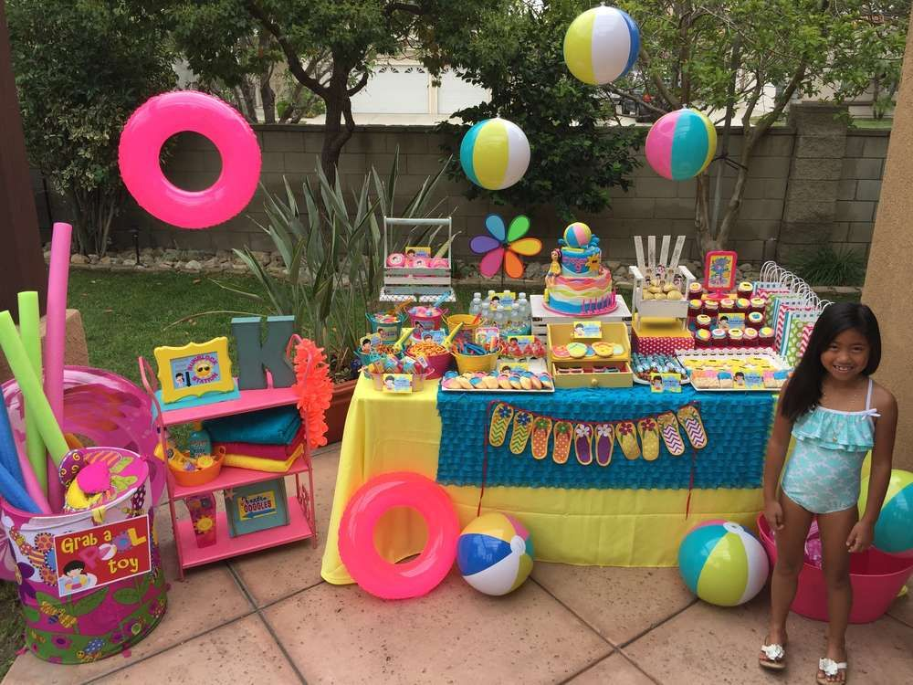 swimming pool summer party summer party ideas party summer