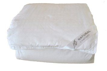 SALE!! Natural Comfort Ultra Deluxe 100-Percent Natural Mulberry Silk Filled Dobby White Comforter for All Seasons REVIEW