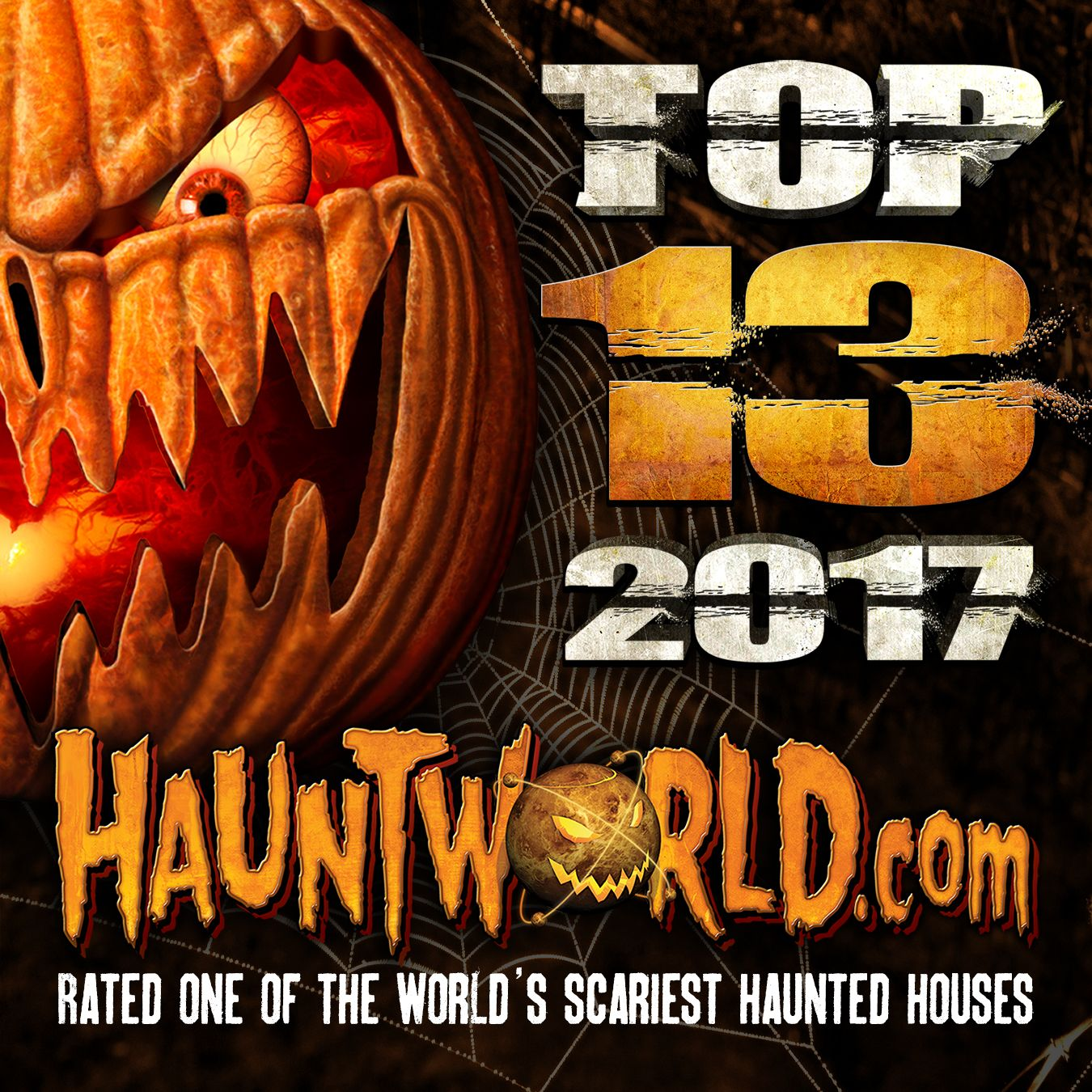 find the top 50 rated best and scariest haunted houses across