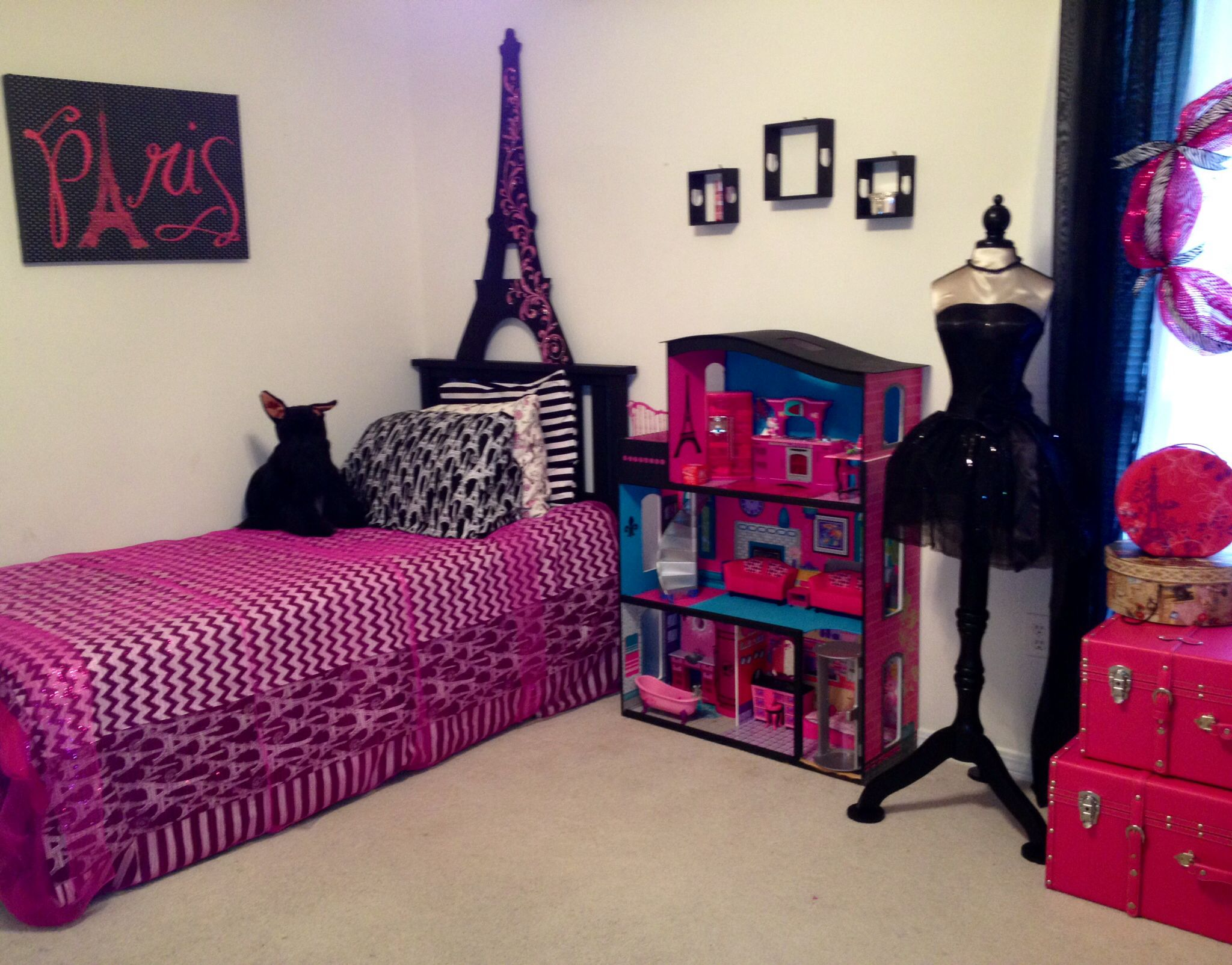 Little Girls Bedroom To 13 Year Olds Dream Room With Images