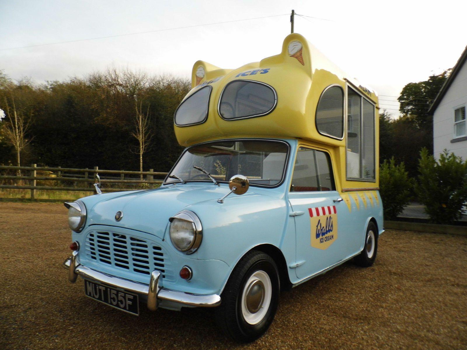 Austin Mini Ice Cream Van 1967 Ebay Ice Cream Van Ice Cream Truck Mini