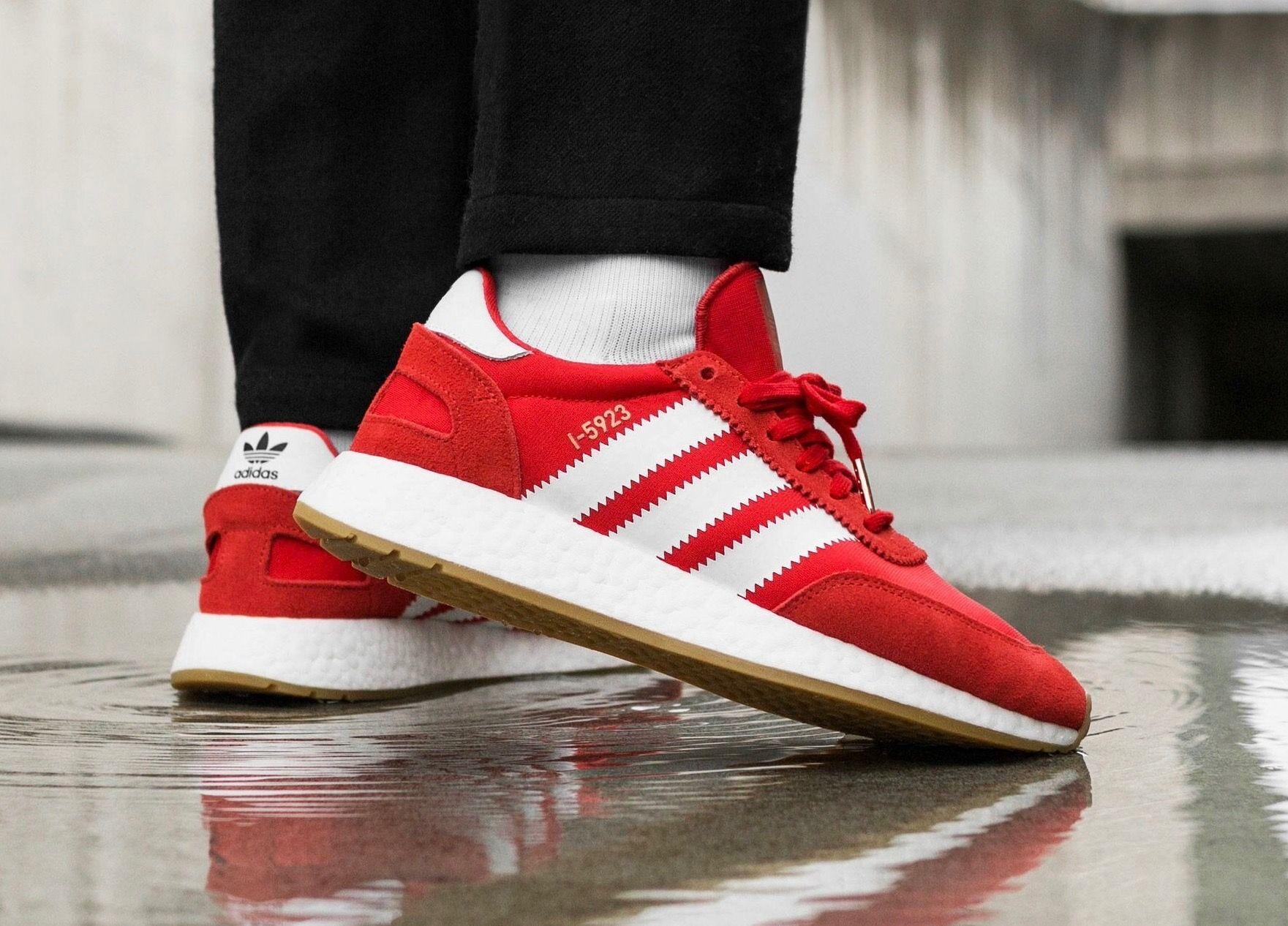 newest collection 05210 e9259 adidas Originals I-5923  Red