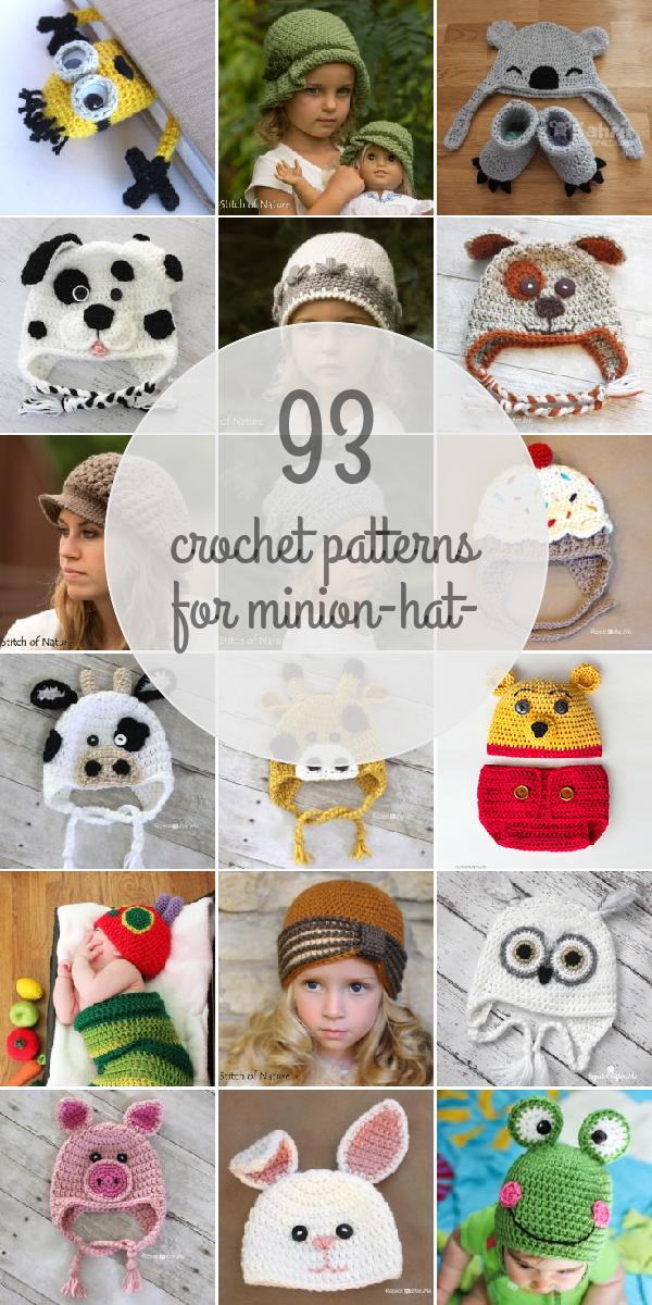 Crochet Patterns For Minion-hat- | Crochet | Pinterest | Ganchillo y ...