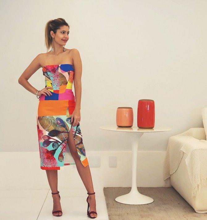 Look – Vestido Longo Praia – Carol Tognon