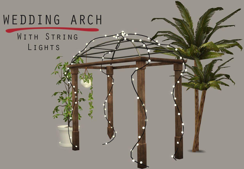 Lighted Wedding Arch – Leosims.com
