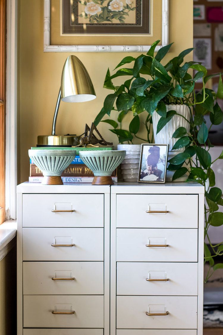 How to give file cabinets a fast easy and chic update