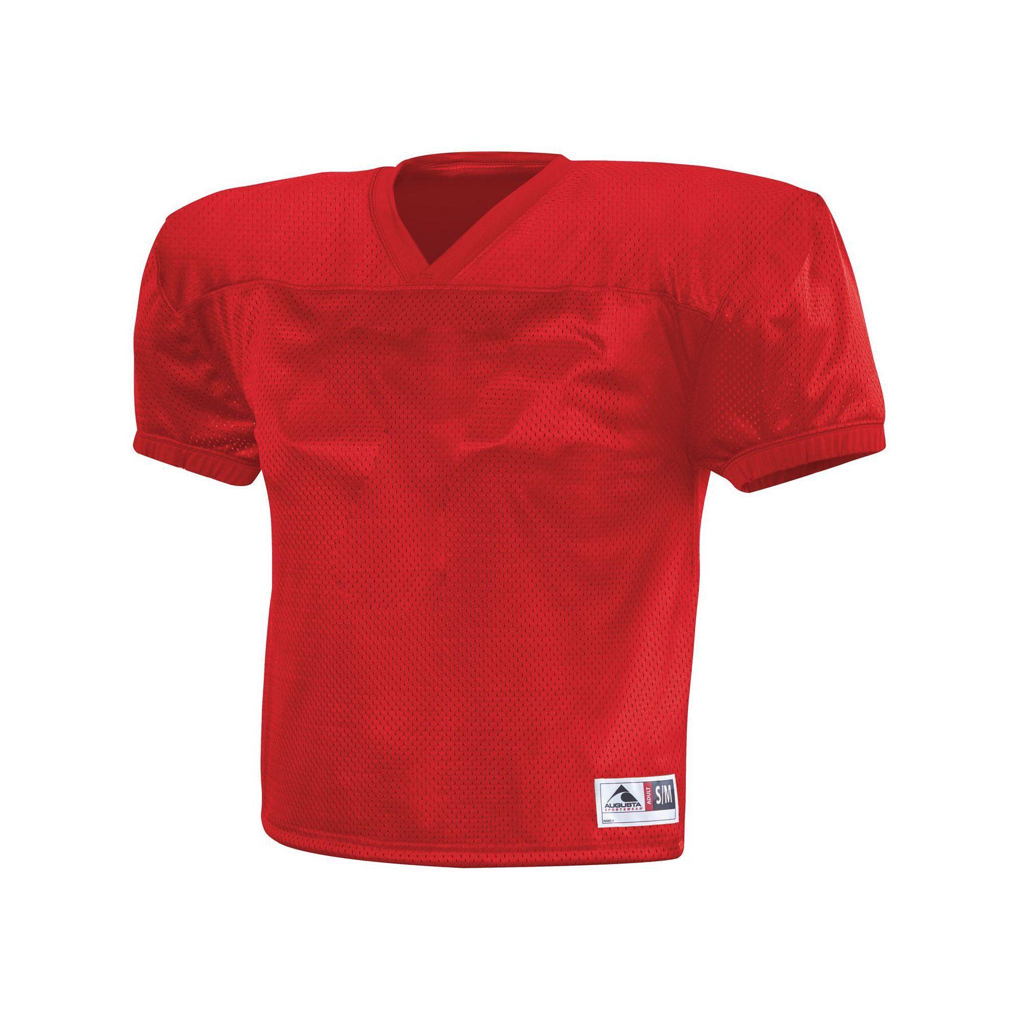 Augusta sportswear boys dash practice jersey sm red 100