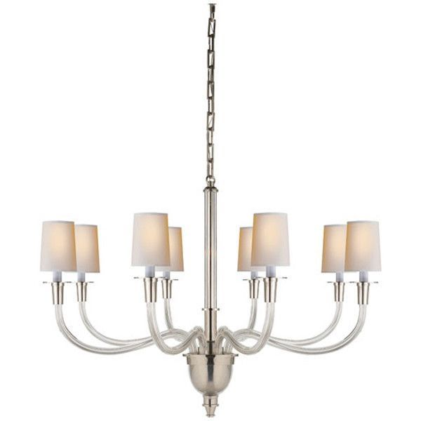 Visual comfort lighting thomas obrien vivian 8 light chandelier