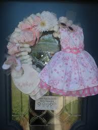 DIY baby shower wreath - Google Search