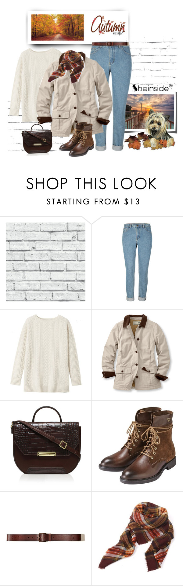 """""""103"""" by treysi-whitney ❤ liked on Polyvore featuring Toast, L.L.Bean, Nine West, GANT, Hollister Co. and plus size clothing"""