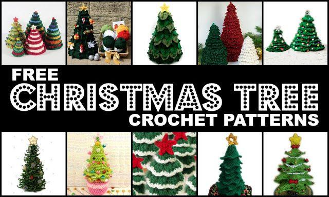 Crochet Treasures: 10 Free Christmas Tree Crochet Patterns