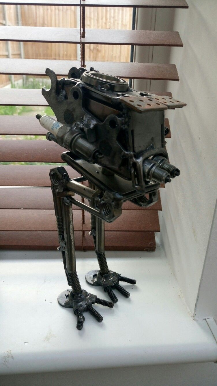 The At-St I had made for the hubby