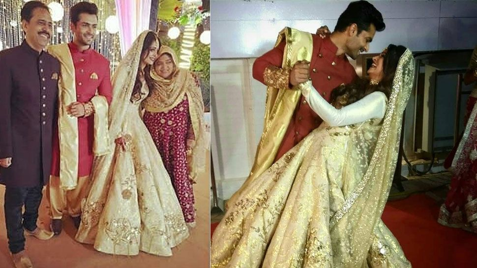 Shoaib And Dipika Throw A Grand Wedding Reception In