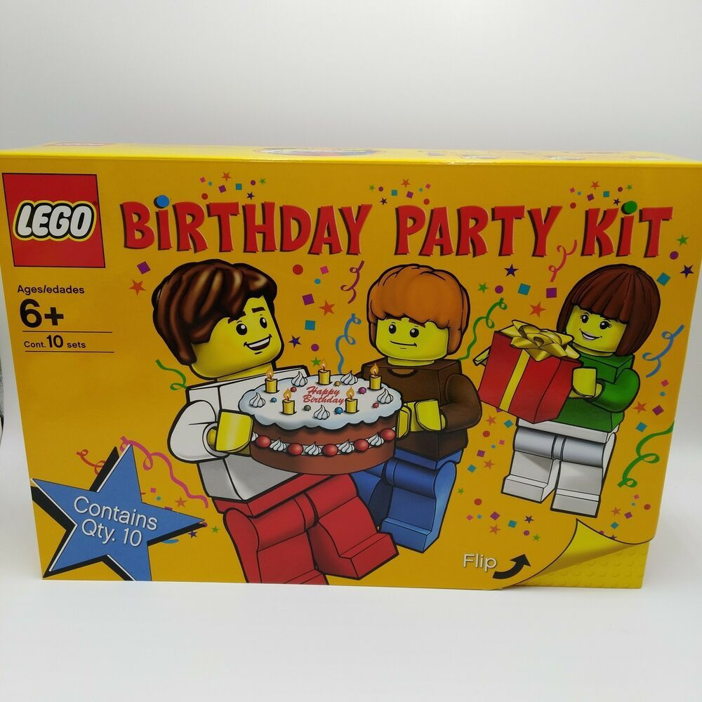 eBay Sponsored LEGO Birthday Party Kit 852998 Ages 6 and