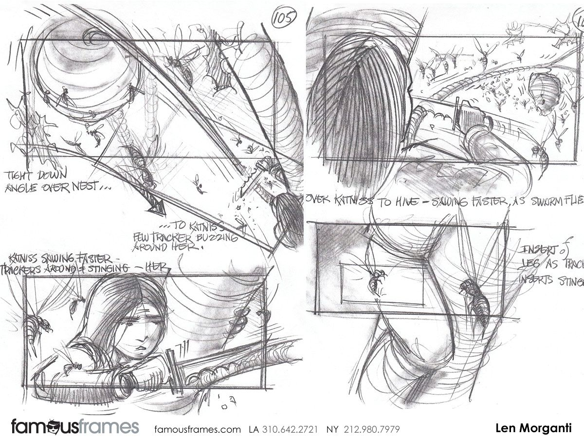 The Hunger Games Storyboard   Movie Storyboard