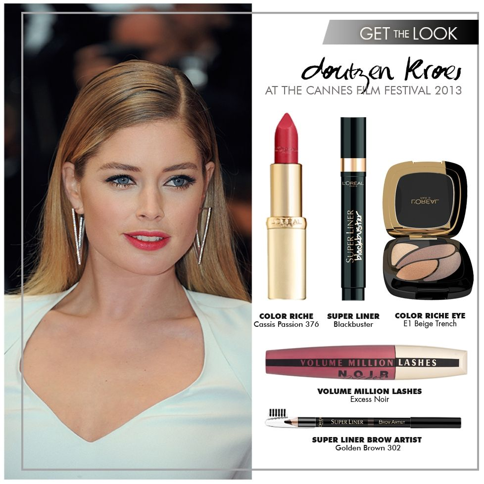 Get the Look: Doutzen Kroes #Cannes2013