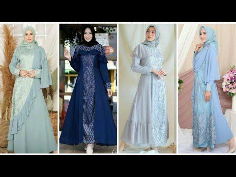 16 Model Baju Gamis Brokat Pesta Terbaru Populer Di Tahun 2019 2020 Youtube Pakaian Wanita Baju Muslim Model Pakaian Muslim
