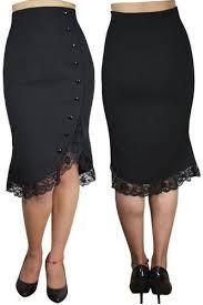 830bc198b Resultado de imagen para faldas negras de fiesta 2017 para mujeres pequeñas