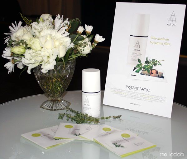 Alpha-H Instant Facial Launch | the ladida