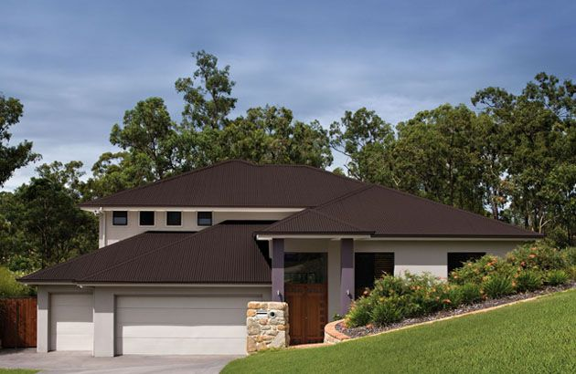Colorbond Create Facade House Roofing Residential Roofing