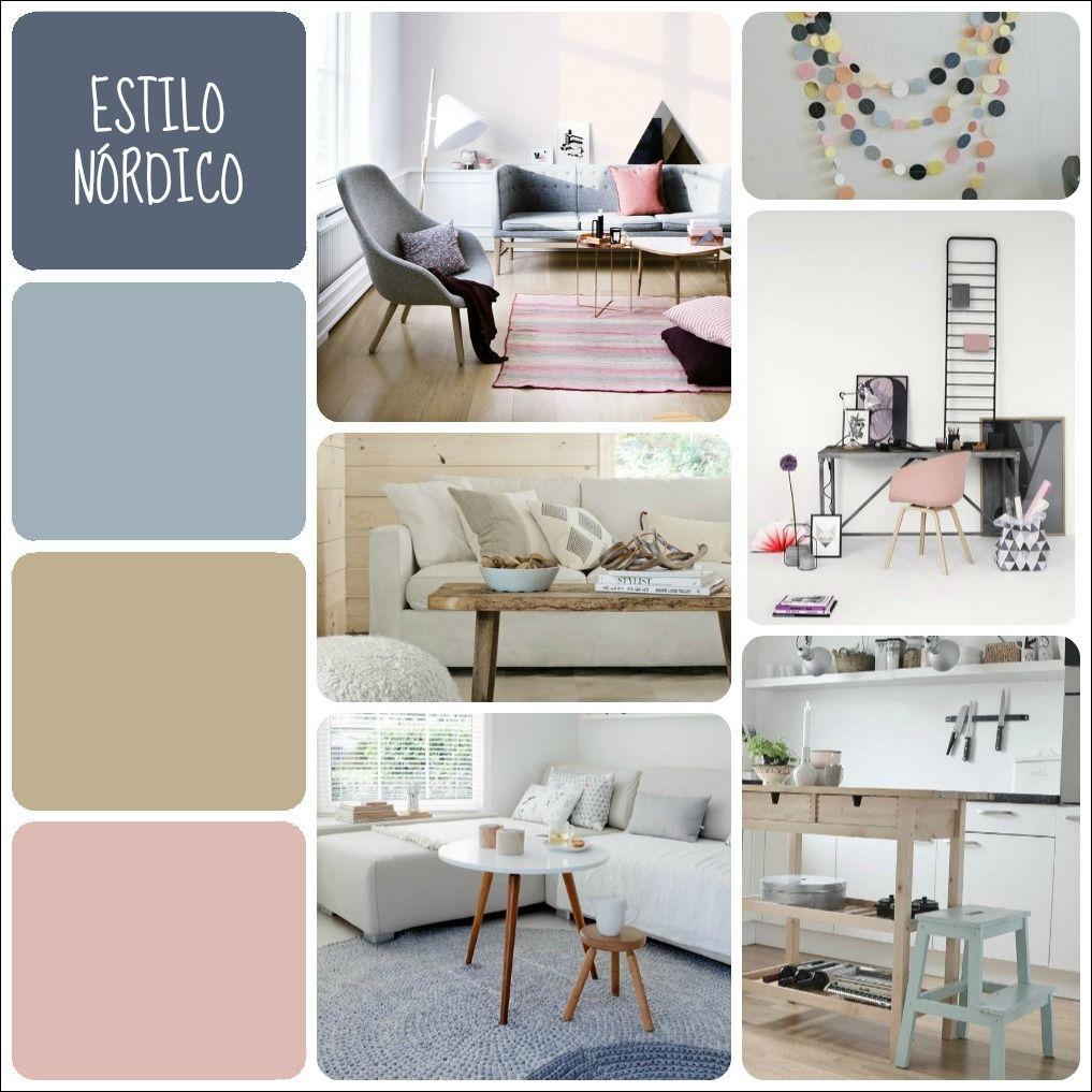 Tu paleta de colores seg n el estilo decorativo estilos - Decoracion paredes blancas ...
