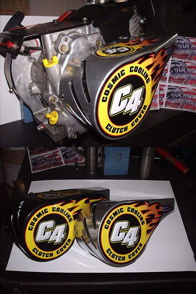 Parts and Accessories 64657: Racing Go Kart Clutch Cover Chain Guard Part -> BUY IT NOW ONLY: $63 on eBay!