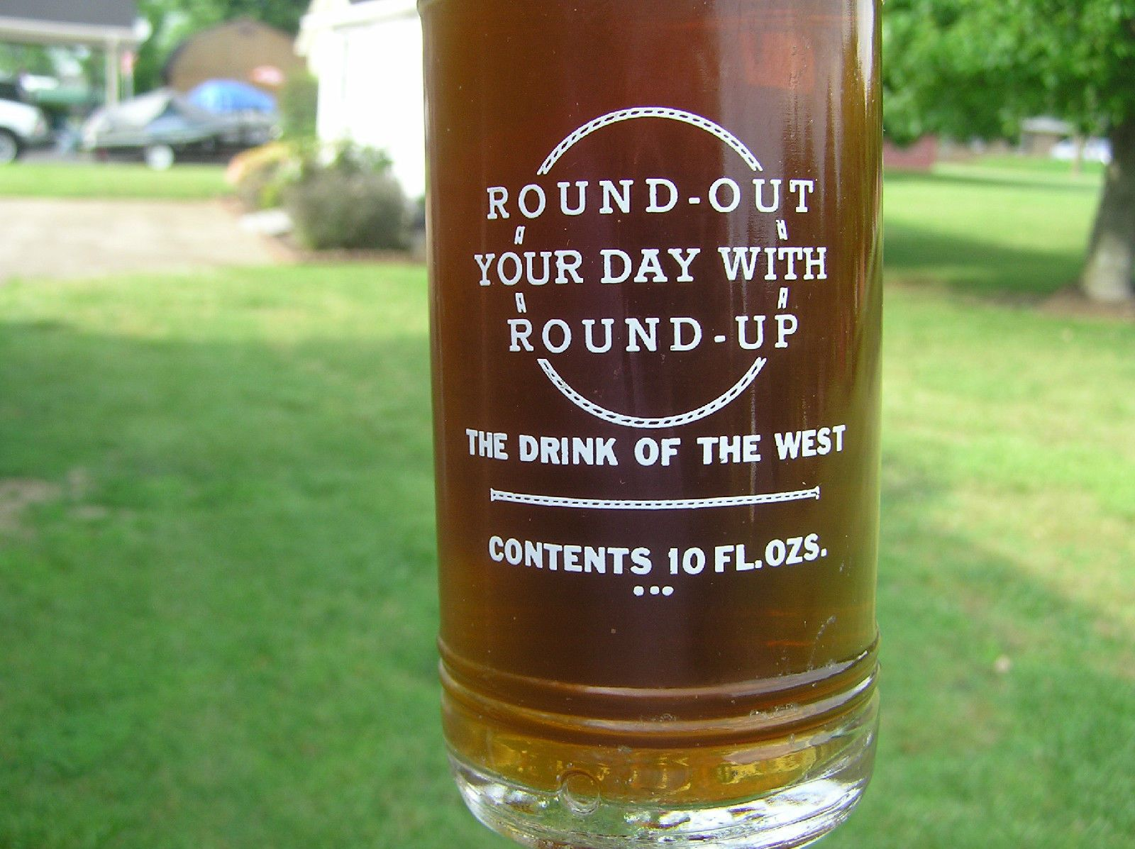 Roundup Bottling Co Roundup Montana 10 Ounce ACL Bottle
