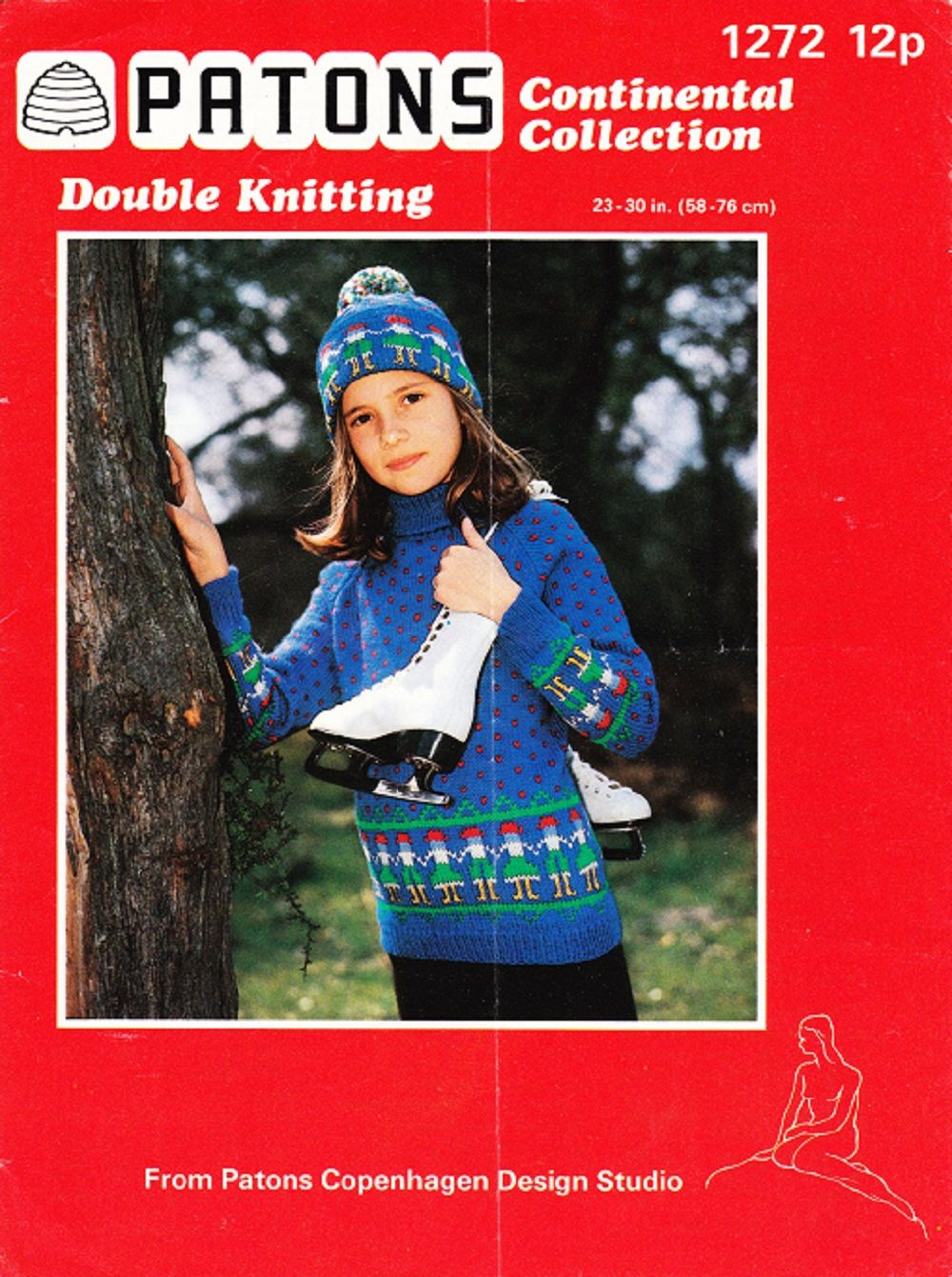 574f068e0 Patons Continental Collection Knitting Pattern 1272