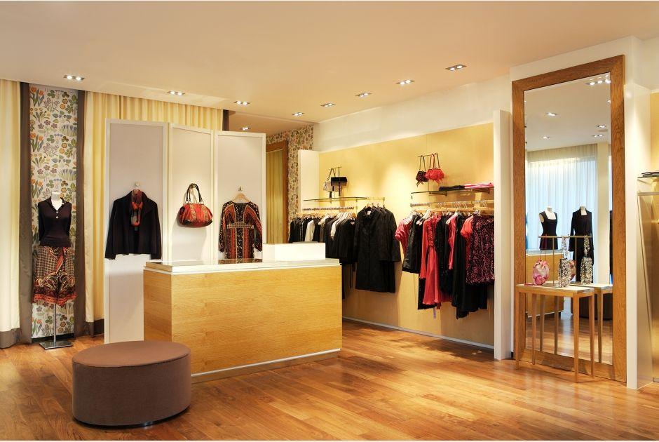 Shop floor by Martin Brudnizki Design Studio Fenn Wright