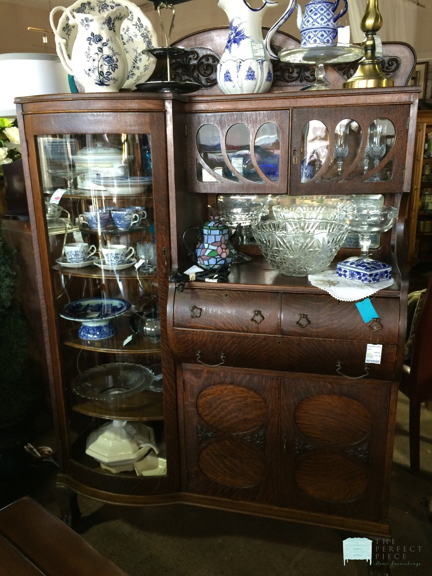 Antique China Cabinet & Bar This is one of the coolest pieces we ve