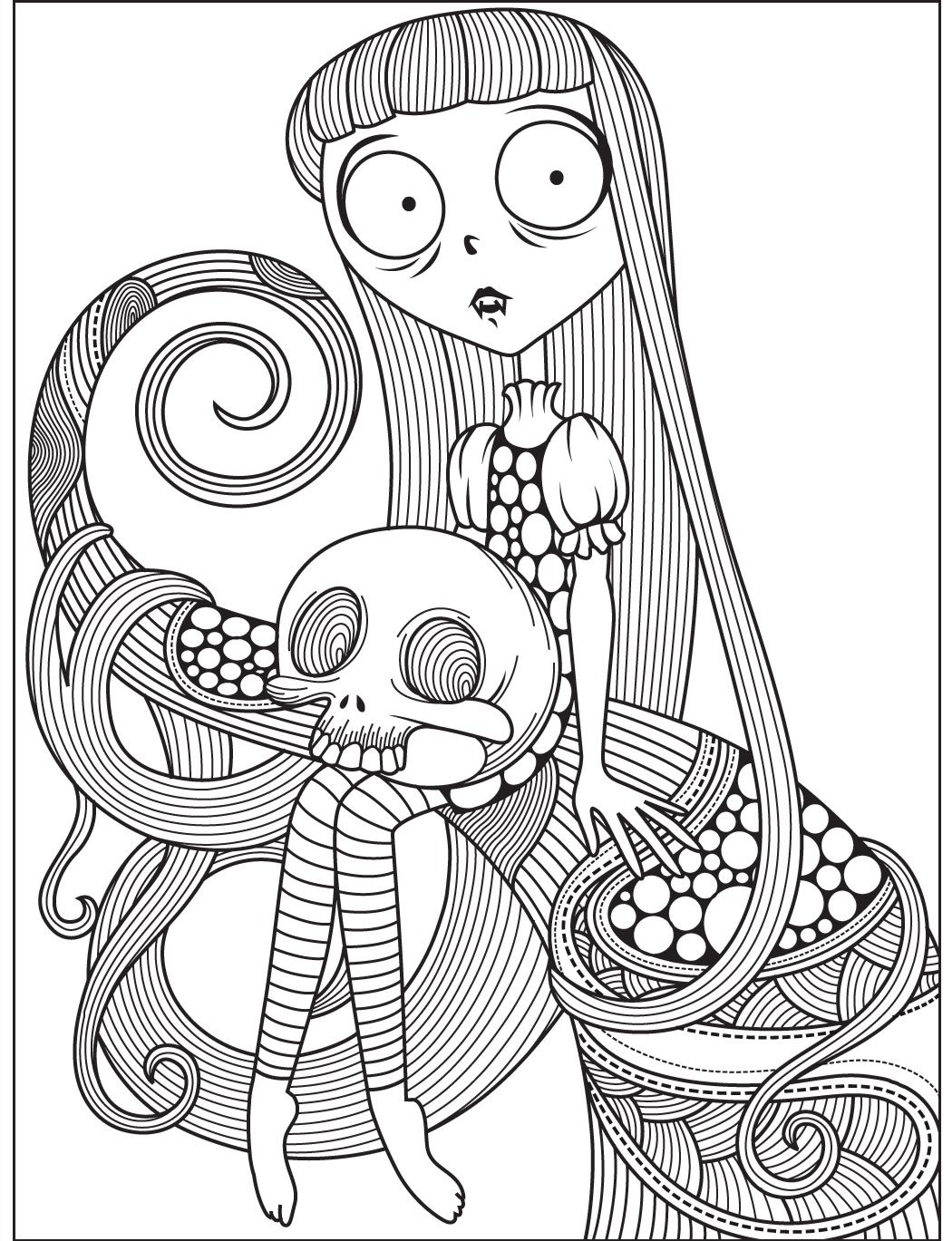 Halloween Coloring Page Colorish Free Coloring App For Adults By Goodsofttech Coloring Books Fairy Coloring Halloween Coloring Pages