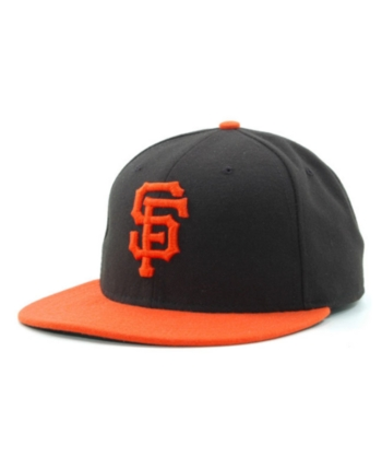 pretty nice 3a1ab 4eb90 New Era San Francisco Giants Mlb Authentic Collection 59FIFTY Fitted Cap -  Black Orange 6 3 8