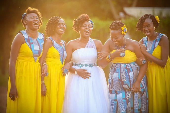 Real Weddings - Kenya Weddings : Wedding Gowns
