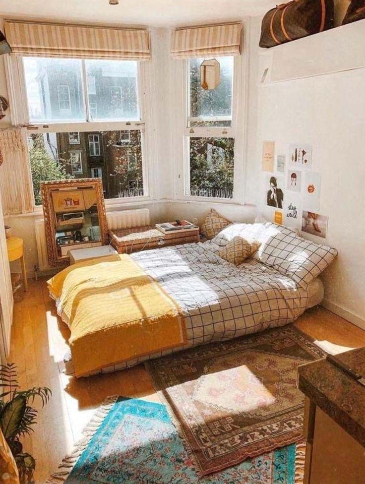 Photo of Lichte slaapkamer. Bekijk desigedecors.com voor meer inspiratie.