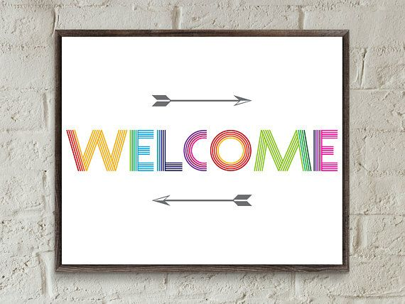 image regarding Printable Welcome Sign titled welcome print,welcome indicator,welcome printable,welcome signal