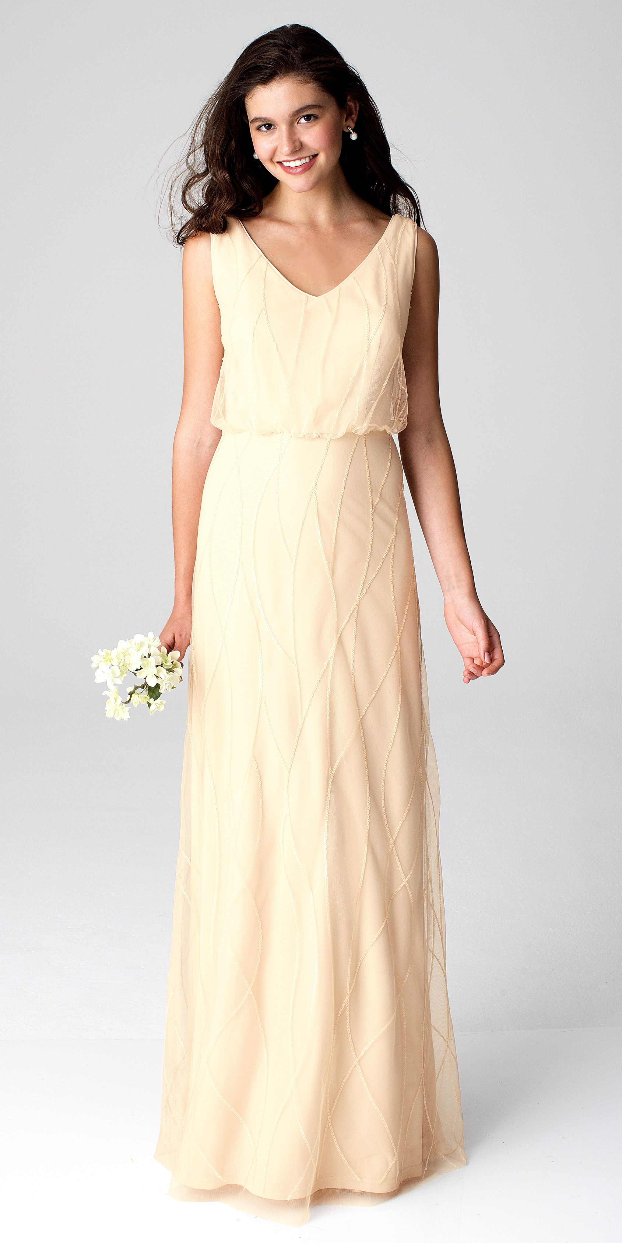 302800274c Bill Levkoff Style 1264 in Champagne